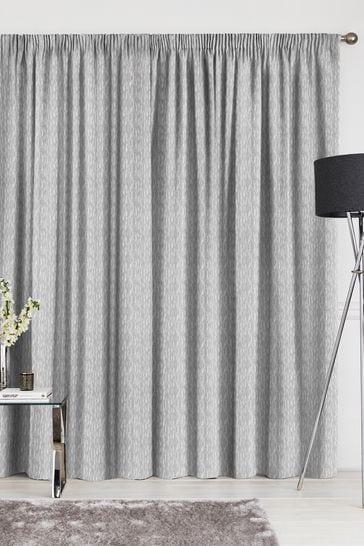 Kally Slate Grey Made To Measure Curtains