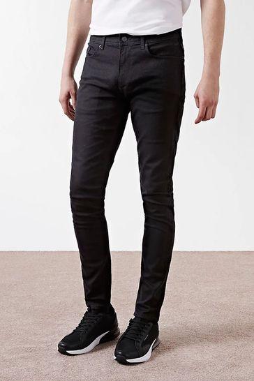 River Island Black Skinny Sid Jeans
