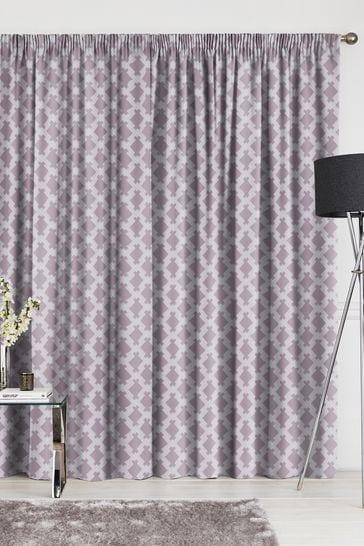 Kendrick Mauve Purple Made To Measure Curtains