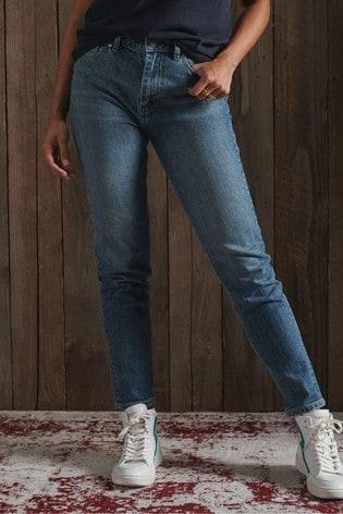Superdry High Slim Taper Jeans