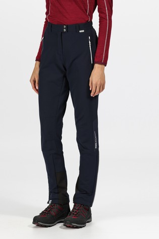 Regatta Blue Womens Mountain Trousers