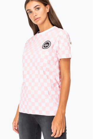 Hype. Checkerboard Women's T-Shirt