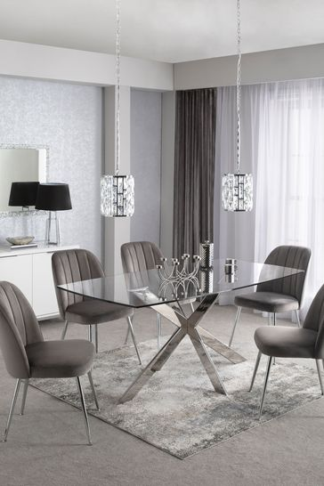 Alessa 6 Seater Dining Table