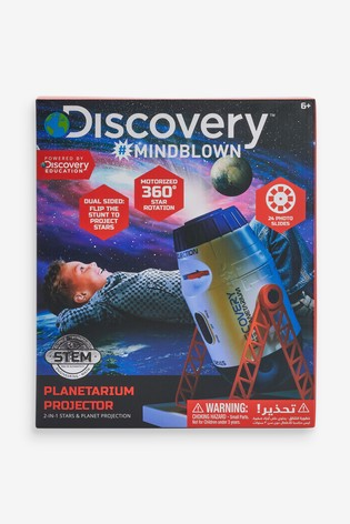Discovery #Mindblown Toy Space And Planetarium Projector