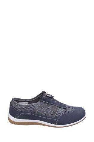 Fleet & Foster Grey Mombassa Comfort Shoes