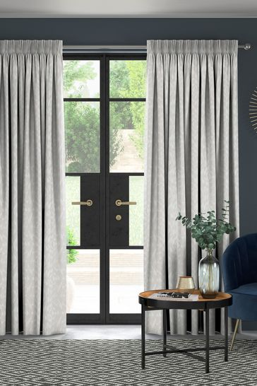 Lara Platinum Grey Made To Measure Curtains