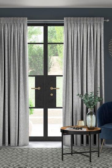 Lara Slate Grey Made To Measure Curtains