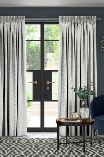 Lara Moonstone Grey Made To Measure Curtains