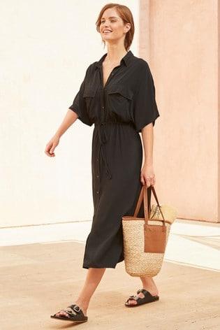 Black Utility Dress