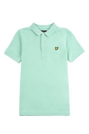 Lyle & Scott Boys Green Classic Polo Shirt
