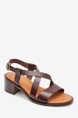 Barbour® Brown Thea Sandals
