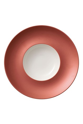 Villeroy and Boch Manufacture Glow Flat Bowl