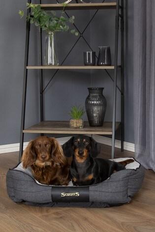 Washable Tweed Medium Breed Dog Bed by Scruffs®