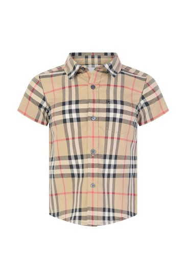 Baby Boys Vintage Check Fredrick Shirt