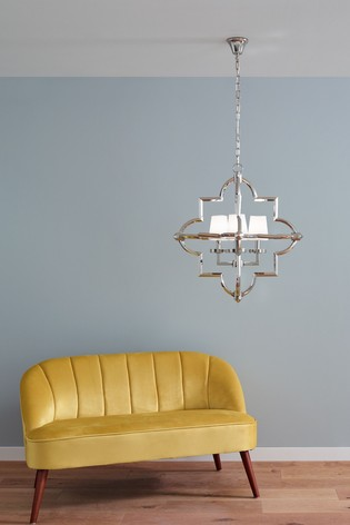 Zanetta Nickel Metal Four Shade Pendant by Pacific