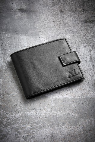 Personalised Italian Leather Wallet