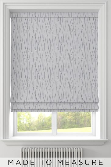 Legna Flint Grey Made To Measure Roman Blind