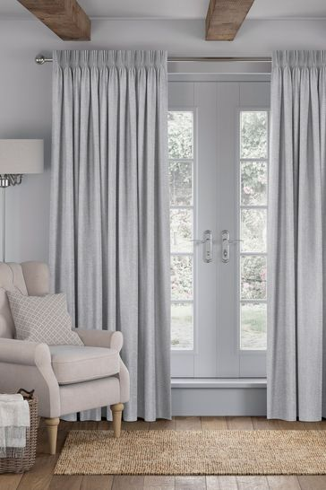 Slate Grey Reeve Made To Measure Curtains