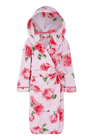 Monsoon Sustainable Rose Print Chunky Robe
