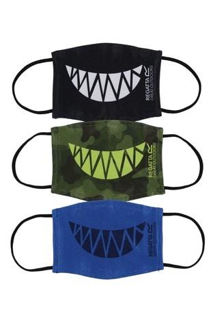 Regatta Kids Fashion Face Coverings Three Pack