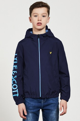 Lyle & Scott Graphic Windcheater Jacket