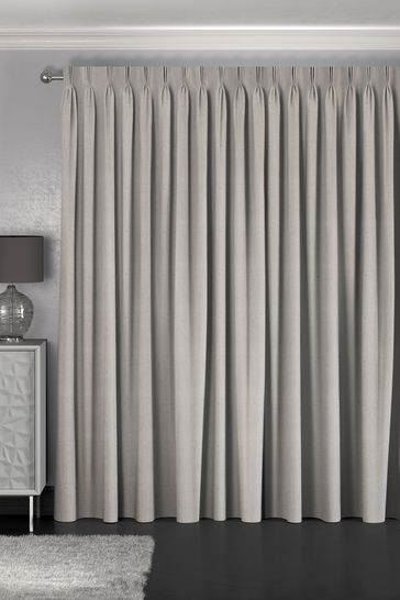 Reeve Putty Grey Made To Measure Curtains