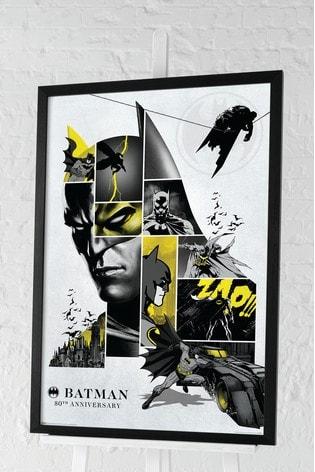 Pyramid Batman® 80th Anniversary Framed Poster