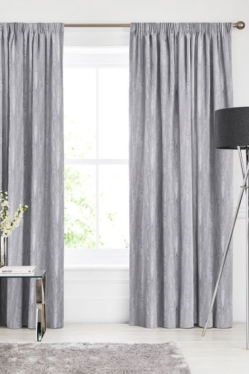 Roberta Fog Grey Made To Measure Curtains