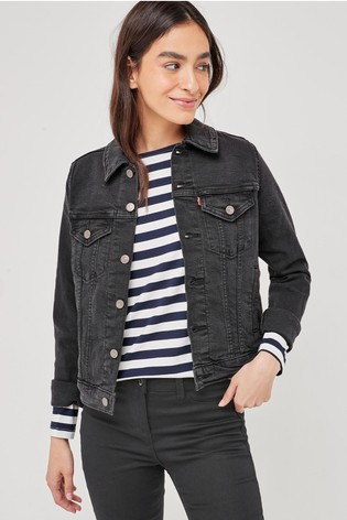 Levi's® Original Trucker Black Denim Jacket