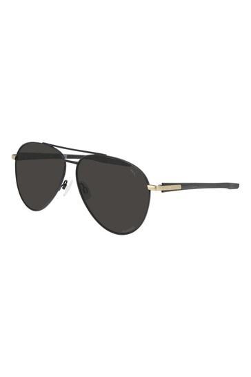 Puma Black Pilot Sunglasses