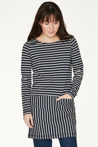Thought Blue Hester Tunic Dress