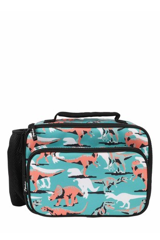 Paperchase Green Dinosaur Lunch Bag