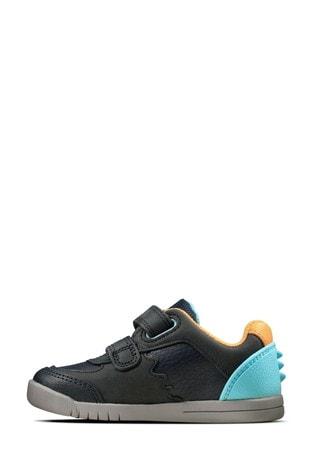 Clarks Blue Rex Quest T Shoes