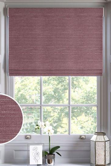 Plum Purple Jasper Made To Measure Roman Blind