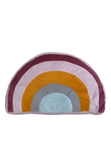 Furn Little Furn White Rainbow Cushion