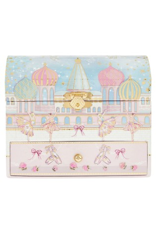 Monsoon Pearly Dream Ballerina Jewellery Box