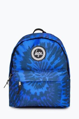 Hype. Blue Tie Dye Backpack