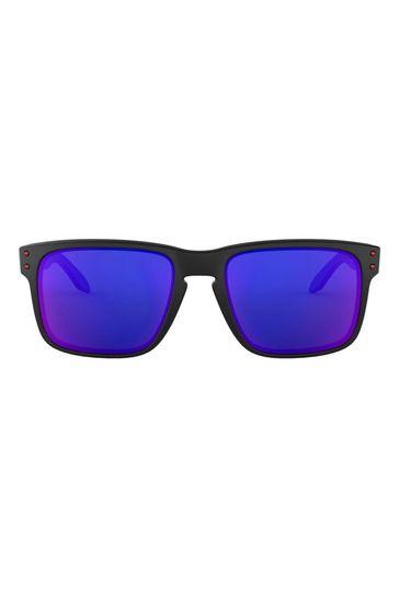Oakley® Black/Purple Sunglasses