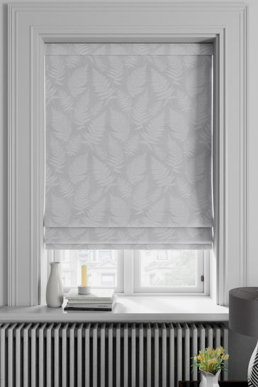 Clarissa Silver Made To Measure Roman Blind