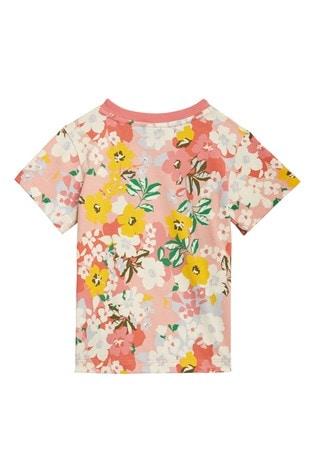 adidas Originals Infant Pink Floral T-Shirt