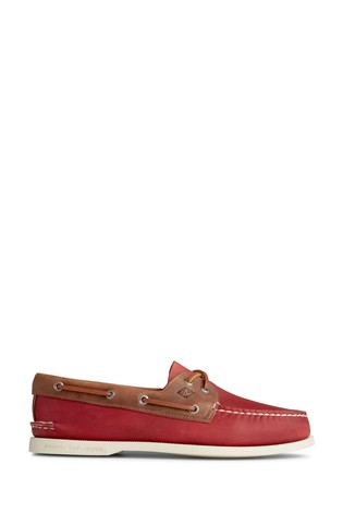Sperry Red Authentic Original Boat Shoes