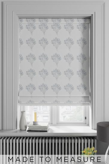 Myland Sky Blue Made To Measure Roman Blind
