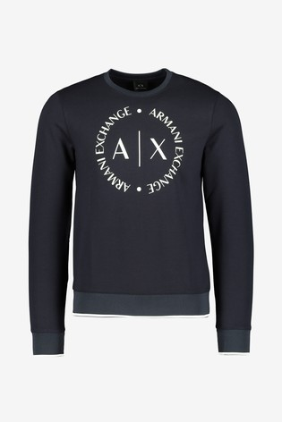 Armani Exchange Logo Sweater