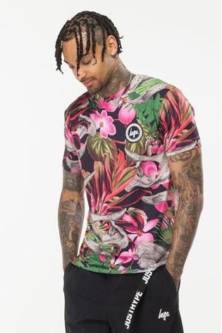 Hype. Jurassic Hawaiian Men's T-Shirt