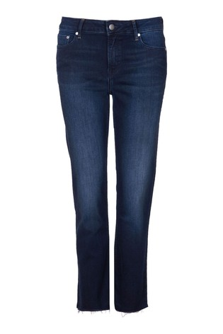 Barbour® Coastal Straight Fit Cropped Fell Denim Jeans