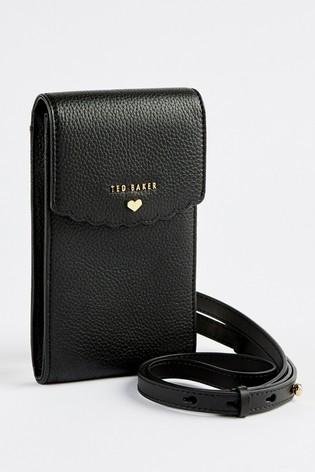 Ted Baker Siiindy Scallop Detail Cross Body Phone Pouch