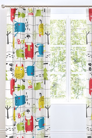 Cosatto Monster Mob Pencil Pleat Curtains