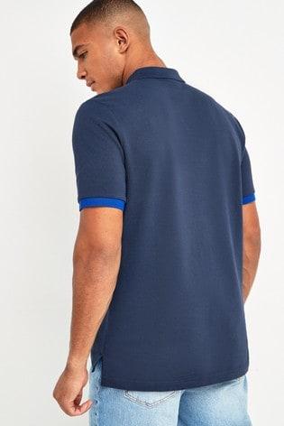 Nike Navy England Polo Shirt