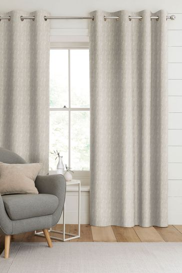 Monroe Champagne Natural Made To Measure Curtains