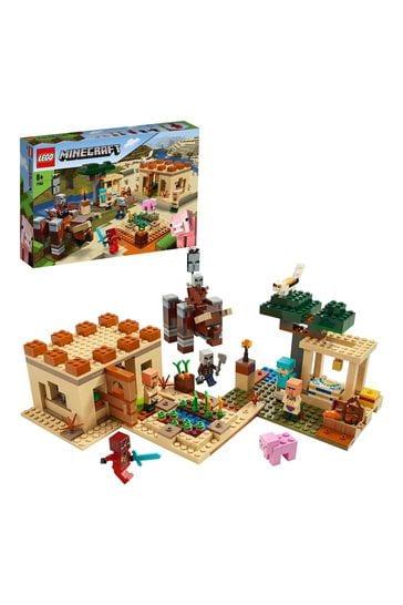 LEGO 21160 Minecraft The Illager Raid Building Set
